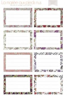 Hottest Photographs Paper Crafts plantillas Suggestions Looking for completely new build thoughts? Without leaving the home, you'll find printable paper Printable Labels, Printable Paper, Free Printables, School Labels, Freebies, Album Book, Writing Paper, Product Label, Vintage Labels
