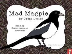 """Mad Magpie"" by Gregg Dreise - Reading Comprehension Resources Indigenous Australian Art, Australian Animals, Australian Aboriginals, Reading Comprehension Strategies, Teacher Notes, Wonderful Picture, Anti Bullying, Animal Totems, Greggs"
