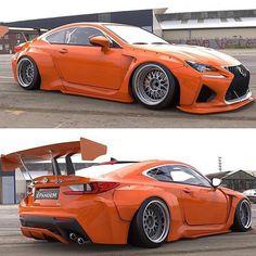 lexus rc-f is done getting with the upgrades orange with a spoiler Lexus Lfa, Lexus Coupe, Lexus Cars, Jdm Cars, Lamborghini Gallardo, Rc Autos, Pretty Cars, Premium Cars, Car Mods