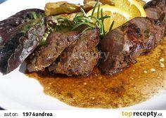 Marinované kančí panenky a hřbety recept - TopRecepty.cz Pot Roast, Beef, Cooking, Ethnic Recipes, Drink, Carne Asada, Meat, Cuisine, Roast Beef