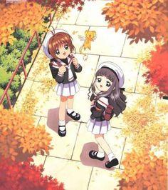 CCS - cardcaptor-sakura Photo Sakura Tomoya Kero || i loved sakura and tomoyas friendship it was so sweet