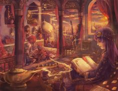 Hamlin's Kingdom | The Book of the Tale of a Thousand Nights by ~Reluin on deviantART