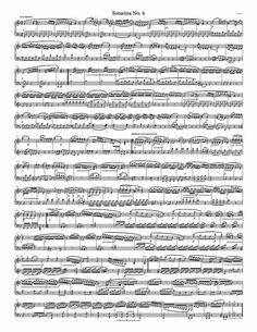 Free Piano Sheet Music – Sonatina Op. 36 No. 4 – Clementi - 1 Page Version