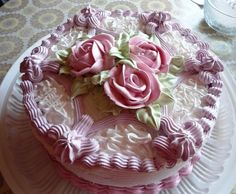 Chiffon Cake ….. cream cake … Wet meringue