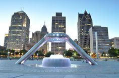good memories of being at Hart Plaza in downtown Detroit.