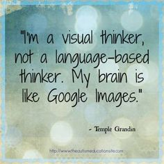 Funny and inspirational #autism quotes - Temple Grandin and more