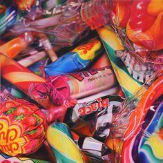 pick and mix - Sweet Dreams by Sarah Graham Sarah Graham Artist, Juan Sanchez Cotan, Memento, Candy Art, Eye Candy, Pick And Mix, A Level Art, Realistic Paintings, Gcse Art