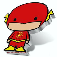 The Flash Chibi DC comics collection 1oz Proof Silver Coin 2020