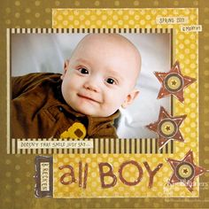 Spellbinders Paper Arts - Idea Gallery - View Project - All Boy
