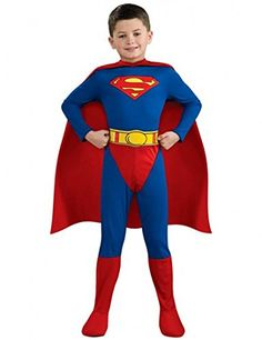 Rubbies France Superman Costume For Boys @ niftywarehouse.com #NiftyWarehouse #Superman #DC #Comics #ComicBooks