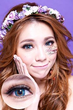 G&G Shinny Turquoise (known as Puffy 3 tone) Circle Contact Lenses.jpg
