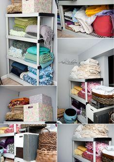 Newborn photography studio blankets, props, storage, Pittsburgh professional newborn photographer