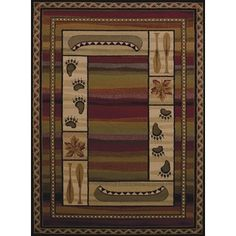 Shop for Harmony Kassie Lodge Accent Rug (1'10 x 3'). Free Shipping on orders over $45 at Overstock.com - Your Online Home Decor Outlet Store! Get 5% in rewards with Club O!