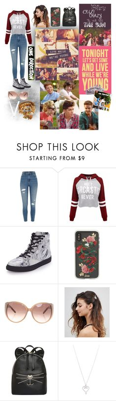 """""""Live While We're Young"""" by fashionablegirl1-1 ❤ liked on Polyvore featuring River Island, WithChic, Balenciaga, Sonix, Chloé, ASOS, T-shirt & Jeans and Tiffany & Co."""