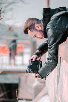 9 Alarming Wedding Photos Appearance Man In Black Leather Jacket Using Black DSLR Camera Outdoors World Photography, Photography Tips, Travel Photography, Adventure Bucket List, Adventure Travel, Ultimate Travel, Best Photographers, Travel Around The World, Travel Photos