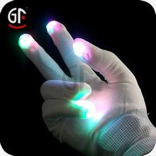 Flashing Lighted Gloves