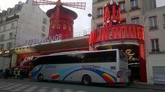 Autocares Carrera en #Paris - #MoulinRouge