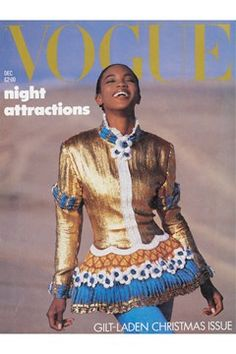 Fashion Magazine Covers - Online Archive for Women (Vogue.com UK) DECEMBER 1987