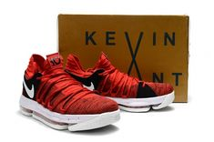f9aeffdc6494 2017 New Arrival Latest August KD 10 University Red Pure Platinum Black For  Cheap