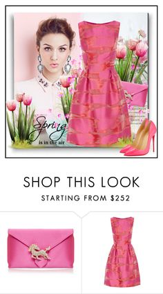"""It's Spring"" by suzanne228 ❤ liked on Polyvore featuring Wilbur & Gussie, Lela Rose and Christian Louboutin"