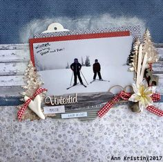 Winter layout Gift Wrapping, Layout, Scrapbook, Winter, Gifts, Travel, Paper Wrapping, Winter Time, Presents