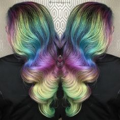Hairstyles and Beauty: The Internet`s best hairstyles, fashion and makeup pics are here. Beauty Makeup, Hair Makeup, Hair Beauty, Cool Hairstyles, Most Beautiful, Women Wear, Level 3, Colorful Hair, Hair Styles