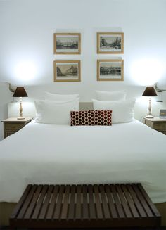 king size bed hotel96 marseilles france
