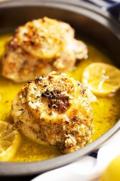 Breasts ina gartens lemon chicken