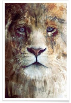 Majesty als Premium Poster von Amy Hamilton | JUNIQE