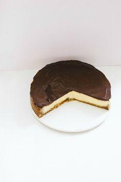 chocolate orange cheesecake | the vanilla bean blog