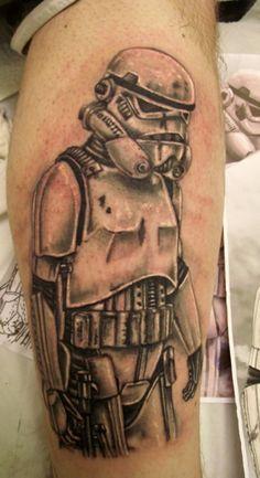 #stormtrooper ! #starwars #tattoos