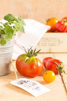 Los tomates con sabor del Huerto de tía Lou