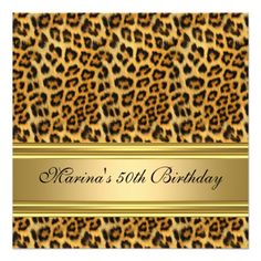 =>>Save on          	Elegant 50th Birthday Party Black Gold Cheetah Invitations           	Elegant 50th Birthday Party Black Gold Cheetah Invitations you will get best price offer lowest prices or diccount couponeDiscount Deals          	Elegant 50th Birthday Party Black Gold Cheetah Invitatio...Cleck Hot Deals >>> http://www.zazzle.com/elegant_50th_birthday_party_black_gold_cheetah_invitation-161994826897876850?rf=238627982471231924&zbar=1&tc=terrest