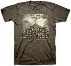 Cross Of Wood T-Shirt (Large). 100% Cotton. High Quality Item. Money back if not satisfied.