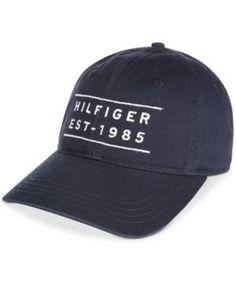 e666e026d181d Tommy Hilfiger Men s Cotton Founder Cap   Reviews - Hats