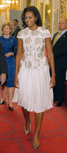 Michelle Obama's best fashion moments of 2012