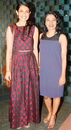 Sarah Jane Dias and Tannishtha Chatterjee at a screening of Whiplash. #Bollywood #Fashion #Style #Beauty