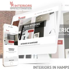 "The New Website for M&M Interiors in Hampshire is now ""Live"" at http://mminteriorshampshire.co.uk/"