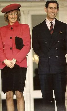 "Prince Charles and Princess Diana..she be like ""Charles you do have big ears *giggle*"""