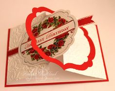 Apothecary Art another fancy fold card