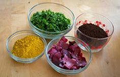 How to make natural Dyes Using Vegetables and Other Pantry Staples #diy