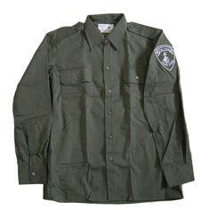 Authentic 1996 Israel Army IDF Border Police Shirt L Zahal Uniform NEW Unworn