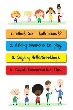 Conversation social stories is made up of four social stories about different conversational skills and simple communication tools to go with them.