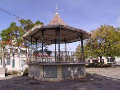 Coreto - Portugal, Aldeia de Paio Pires, Seixal Portugal, Gazebo, Buildings, Outdoor Structures, Kiosk, Pavilion, Cabana