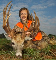 12-Year-Old Girl Harvests 21-Point, Triple-Beam Trophy Buck