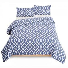 Duvet Cover Set Sabeen Navy