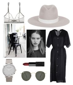 Coffee in my Ashaya Leigh Fedora by ashaya-leigh on Polyvore featuring Lemaire, Eres, Ray-Ban, NARS Cosmetics, women's clothing, women's fashion, women, female, woman and misses