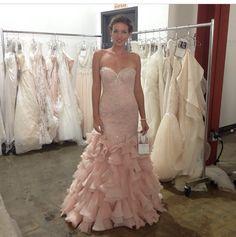 dd12710967e12 Serencia- maggie sottero Pink Wedding Dresses, Pink Gowns, Bridal Dresses, Wedding  Gowns