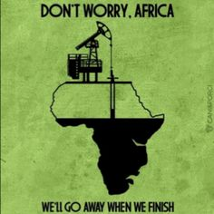 The people who colonised took the local resources unfairly. They pay the local country unequally as they sell in their own country.