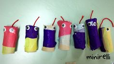 The kids in my class love to talk about snakes and how long they are! So this time we made short snakes!  You may need: Toilet paper tubes Assorted tissue paper strips Googly eyes Red yarn&nbs…